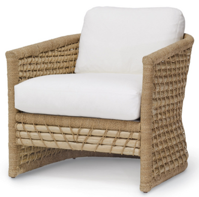 Lounge Chair • Rattan & Seagrass