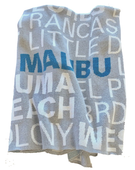 Malibu Beaches Eco-Friendly Indoor/Outdoor Throw