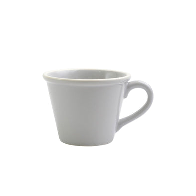 Vietri Chroma Light Grey Mug (Set of 4)