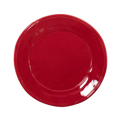 Vietri Fresh • Red Dinner Plate