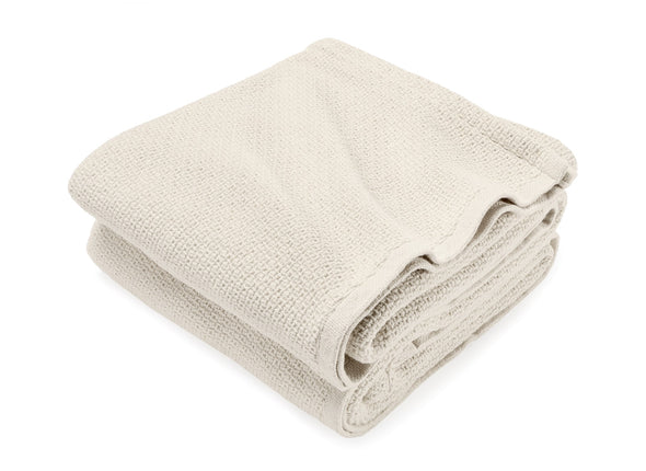 Edgecomb King Cotton Blanket Natural Blanket