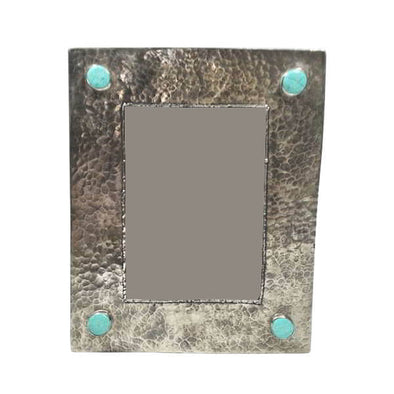 Silver & Turquoise Picture Frame