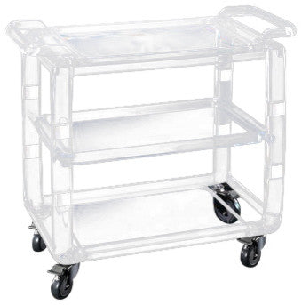 Retro Acrylic Bar Cart