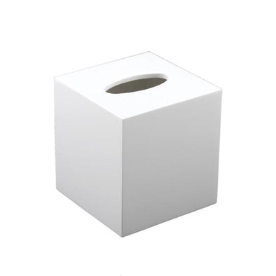 Tissue Box • White Lacquer