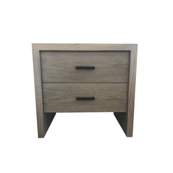 Lachman Two-Drawer Side Table