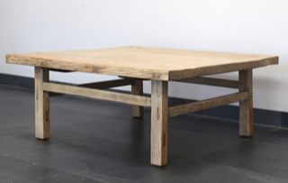 Vintage Low Square Table