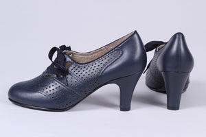 1930'er oxford pumps - Marine Blue - Marie