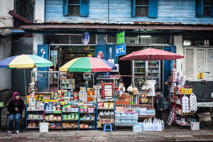 Horizontal photo of a Convenience Store in Luang Prabang, Laos