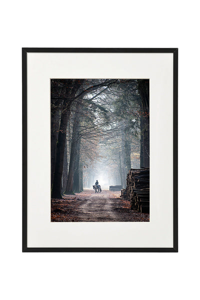 Vertical photo of a road in Mastbos, Breda, Netherlands, shown in a normal frame.