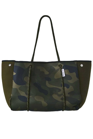 Ahdorned Handbags Ahdorned Army Camo Neoprene Tote N101ARMC
