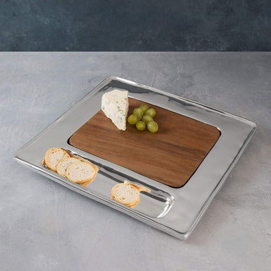 Beatriz Ball Serveware Beatriz Ball Cheese / Cutting Board Wood Soho Square Cracker 6418