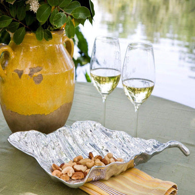 Beatriz Ball Serveware Beatriz Ball Garden Autumn Leaf Platter (Md) 6252