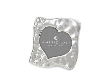 "Beatriz Ball Picture Frames Beatriz Ball GIFTABLES Curved Heart 5"" x 5"" Frame 7254"