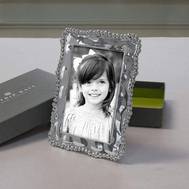 "Beatriz Ball Picture Frames Beatriz Ball GIFTABLES Organic Pearl 4""x 6"" frame 7248"