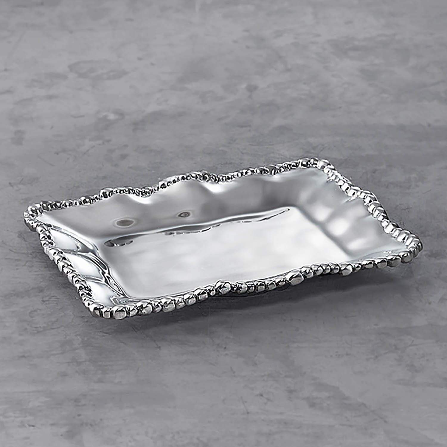 Beatriz Ball Serveware Beatriz Ball Grab & Go Organic Pearl Petit Tray 6522