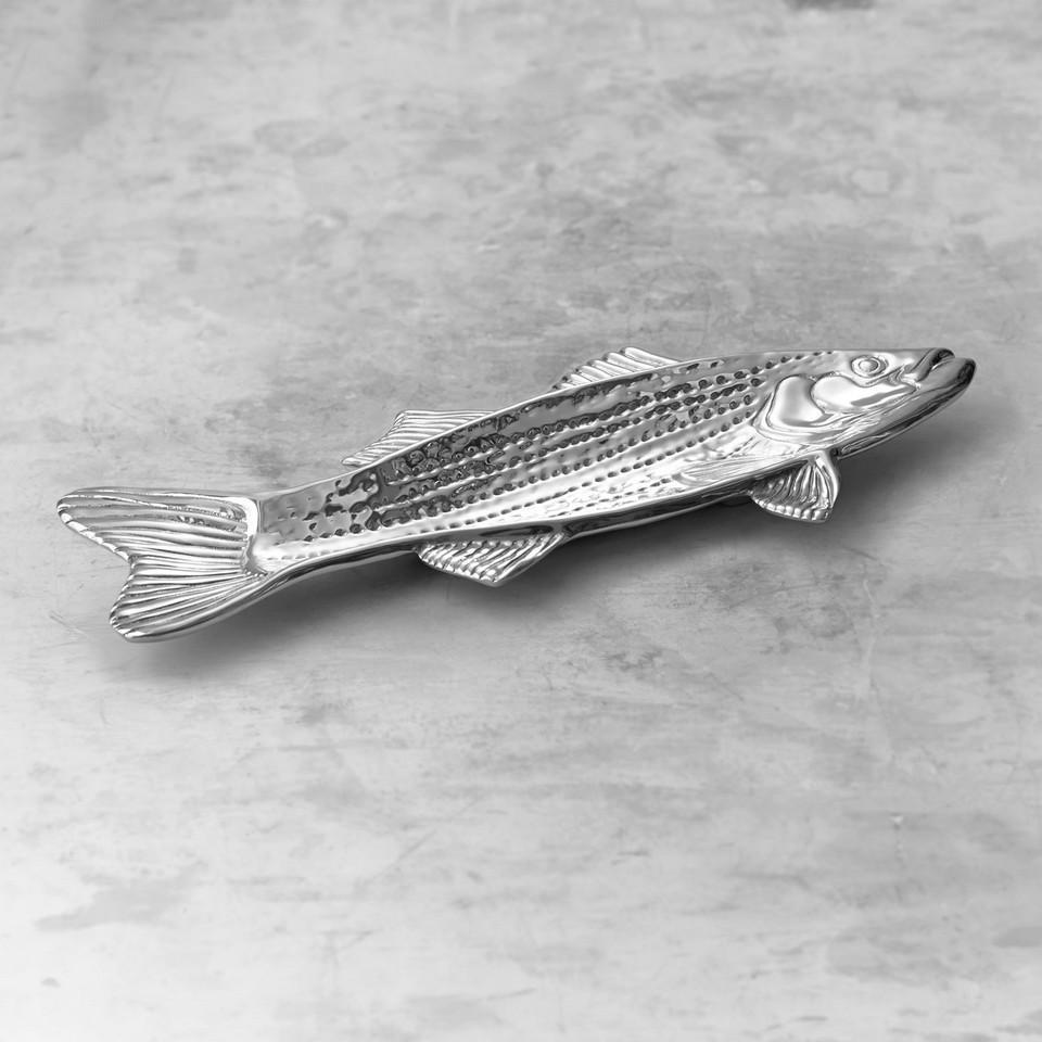 Beatriz Ball Serveware Beatriz Ball OCEAN striped bass platter 7098