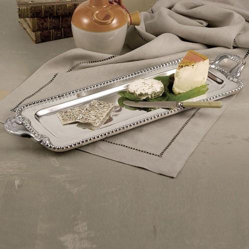 Beatriz Ball Serveware Beatriz Ball Pearl David Long Rect Tray 5954
