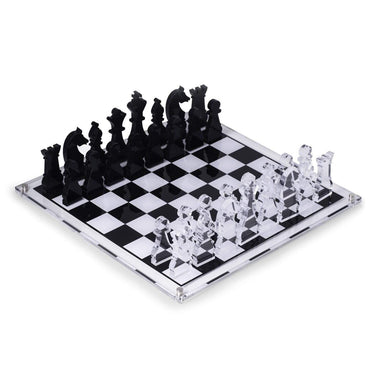 BeyBerk International Giftware Charlie Acrylic Chess Set