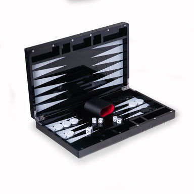 BeyBerk International Giftware Damien Acrylic Backgammon Set