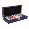 Brouk & Co Giftware Blue Lacquer 100 Chip Set