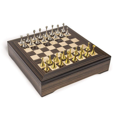 Brouk & Co Giftware Classic Chessboard (High Gloss Ebony Wood)