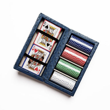 Brouk & Co Giftware Ostrich Style Poker Set