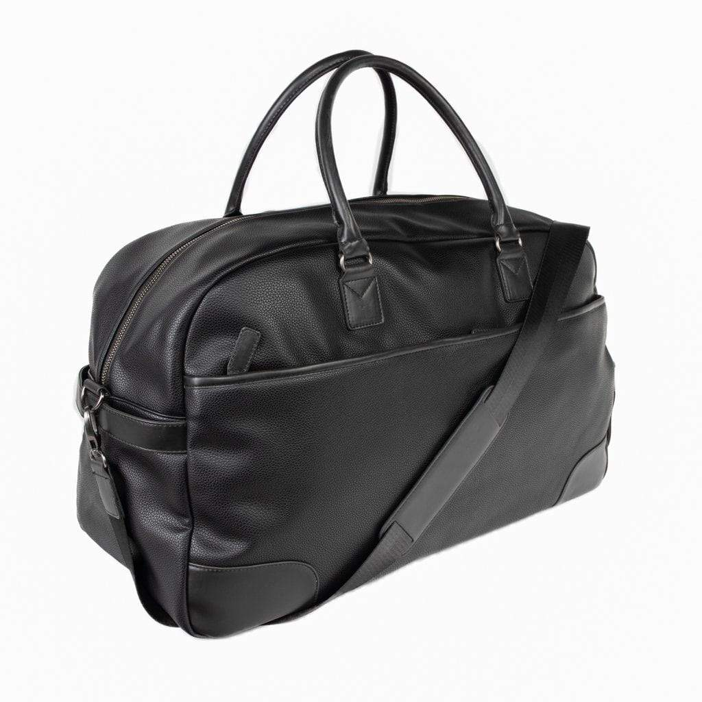 Brouk & Co Handbags The Davidson Duffel Bag, Black