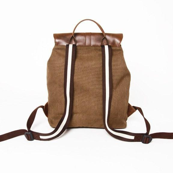 Brouk & Co Handbags The Journeyman Rucksack, Brown