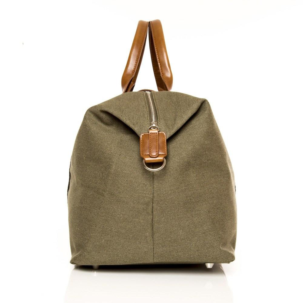 Brouk & Co Handbags The Original Duffel Bag, Military Green