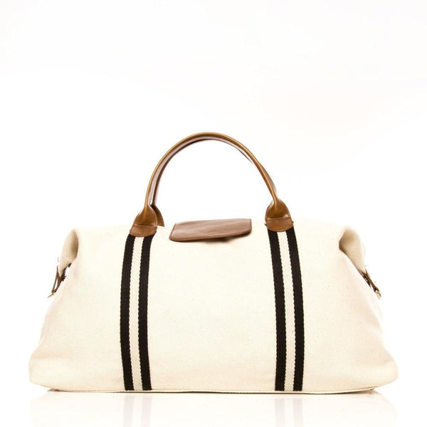Brouk & Co Handbags The Original Duffel Bag, Off White