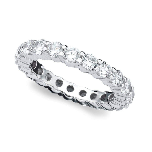 Crislu Jewelry CRISLU Brilliant Eternity Band 3 mm - Size 6
