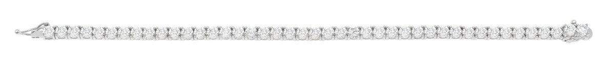Crislu Jewelry CRISLU Classic Large Brilliant Tennis Bracelet Finished in Pure Platinum - Size 7