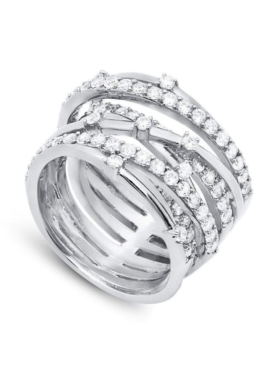 Crislu Jewelry CRISLU Entwined Ring - Size 8