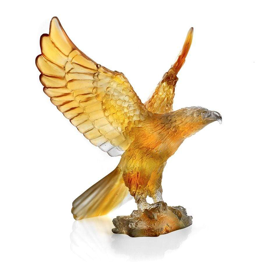 Daum Art Glass Daum Crystal Eagle