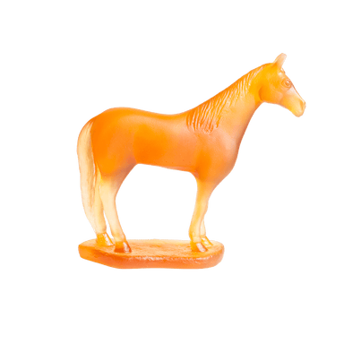 Daum Art Glass Daum Crystal Horse Chinese Horoscope