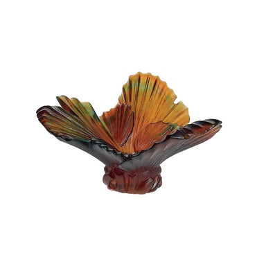 Daum Art Glass Daum Crystal Palmier Bowl by E Robba