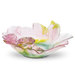 Daum Art Glass Daum Crystal Roses Ornamental Dish