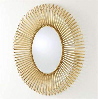 Global Views Home Andrea's Mirror-Gold Leaf
