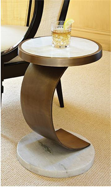 Global Views Furniture C Accent Table