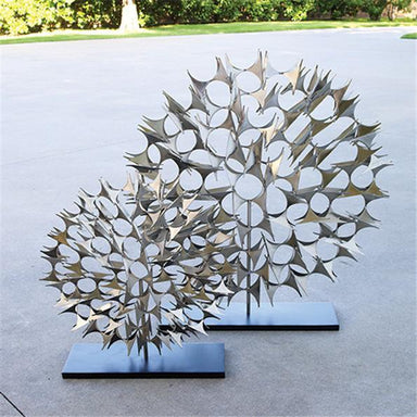 Global Views Home Cosmos Sculpture Nickel-Large