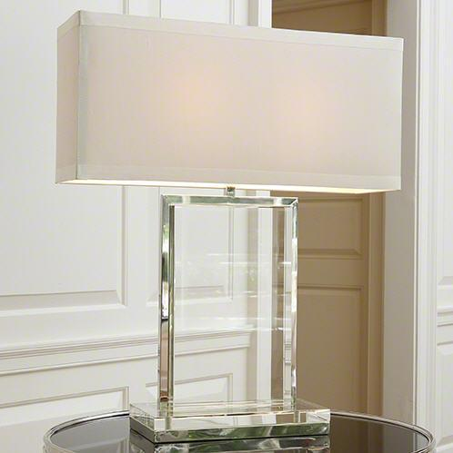Global Views Lighting Crystal Slab Lamp