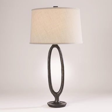 Global Views Home Ellipse Table Lamp-Bronze 7.80572
