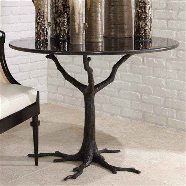 Global Views Furniture Faux Bois Dining Table