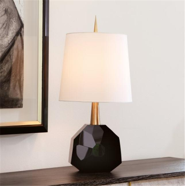 Global Views Lighting Gem Lamp-Polished Brass
