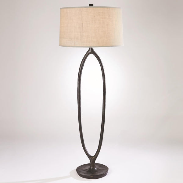Global Views Home Global Views Ellipse Floor Lamp-Bronze