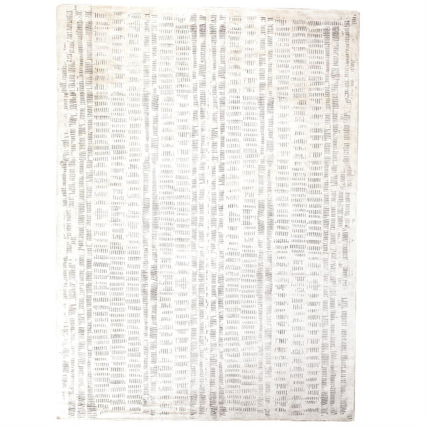 Global Views Home Global Views Frequency Rug-Cream/Charcoal-5' x 8'