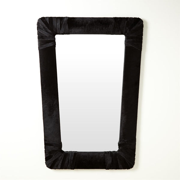 Global Views Home Global Views Gabriel Mirror-Black
