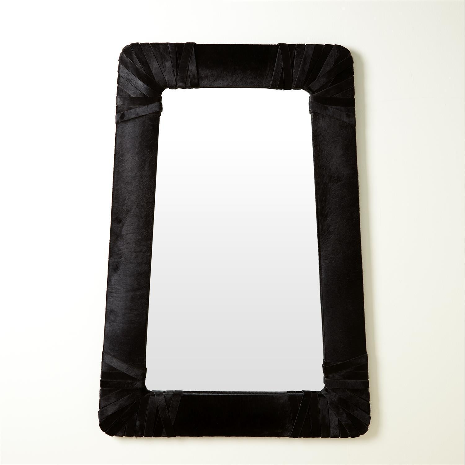 Global Views Gabriel Mirror-Black