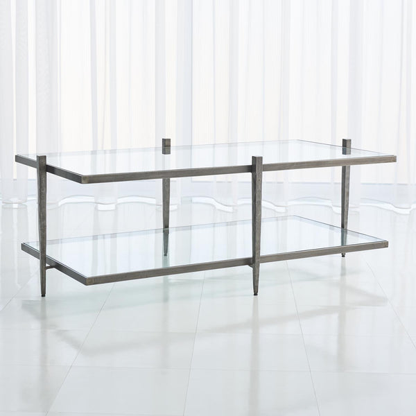 Global Views Home Global Views Laforge Cocktail Table-Natural Iron