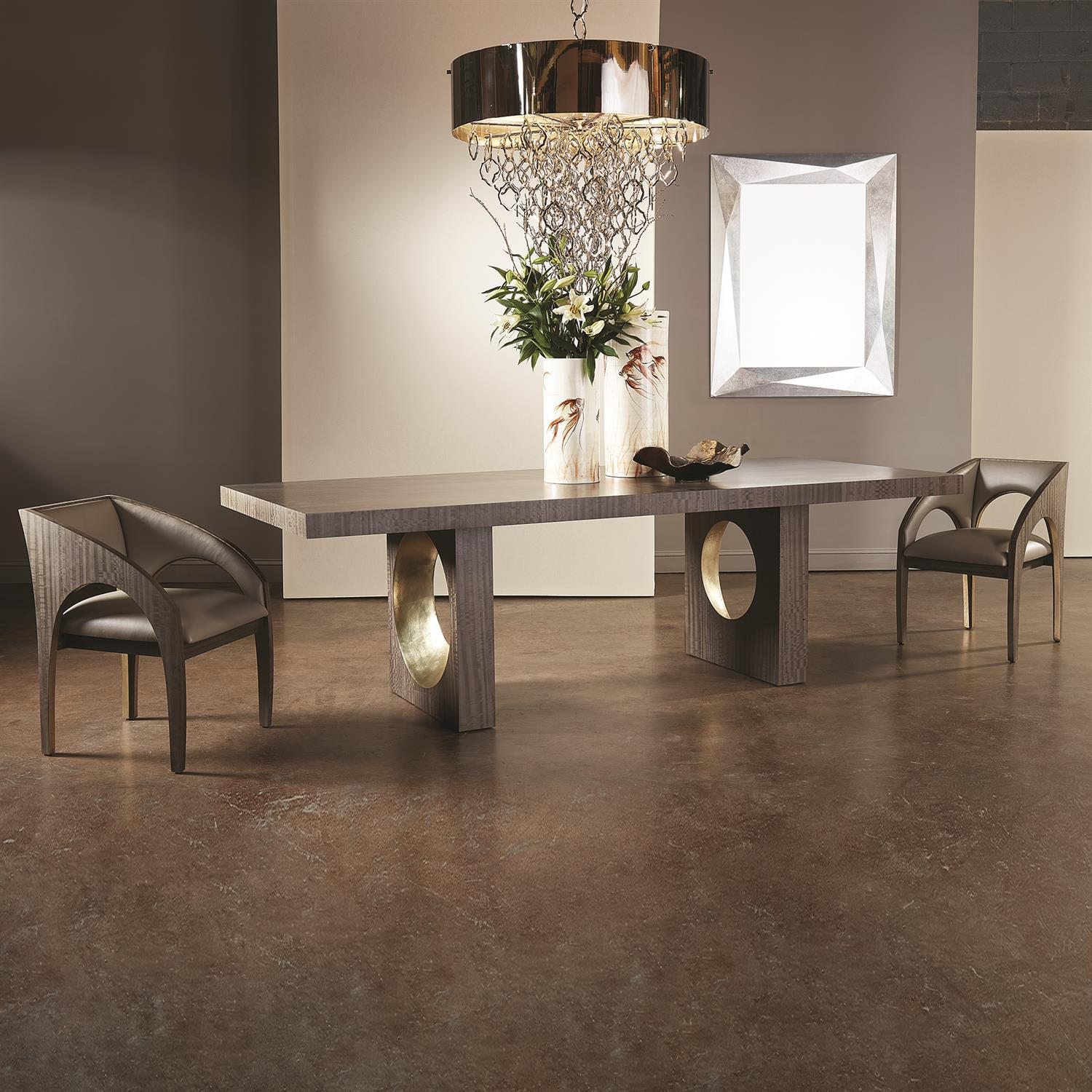Global Views Oculus Dining Table